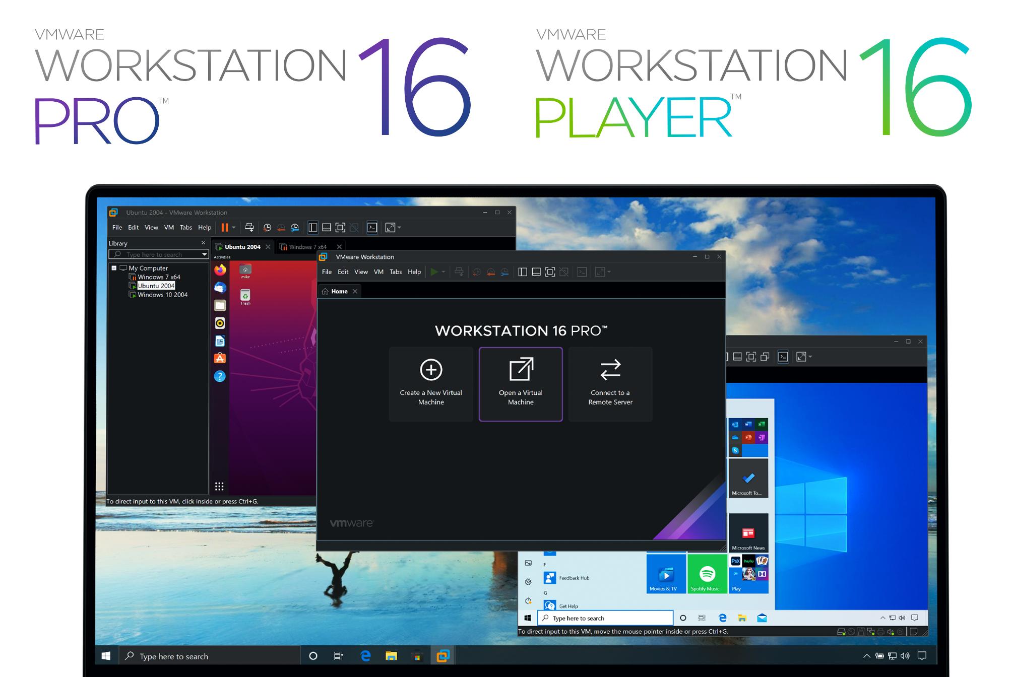 download vmware workstation 16 pro
